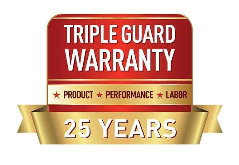 panasonic triple guard warranty